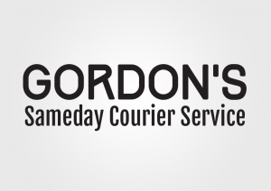 Gordon's Sameday Courier Service Logo (2014)