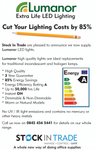 Poster for Lumanor LED Lighting Solutions by Stock-In-Trade (2013)
