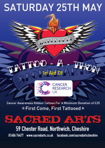 Sacred Arts Tattoo-A-Thon Poster (2013)